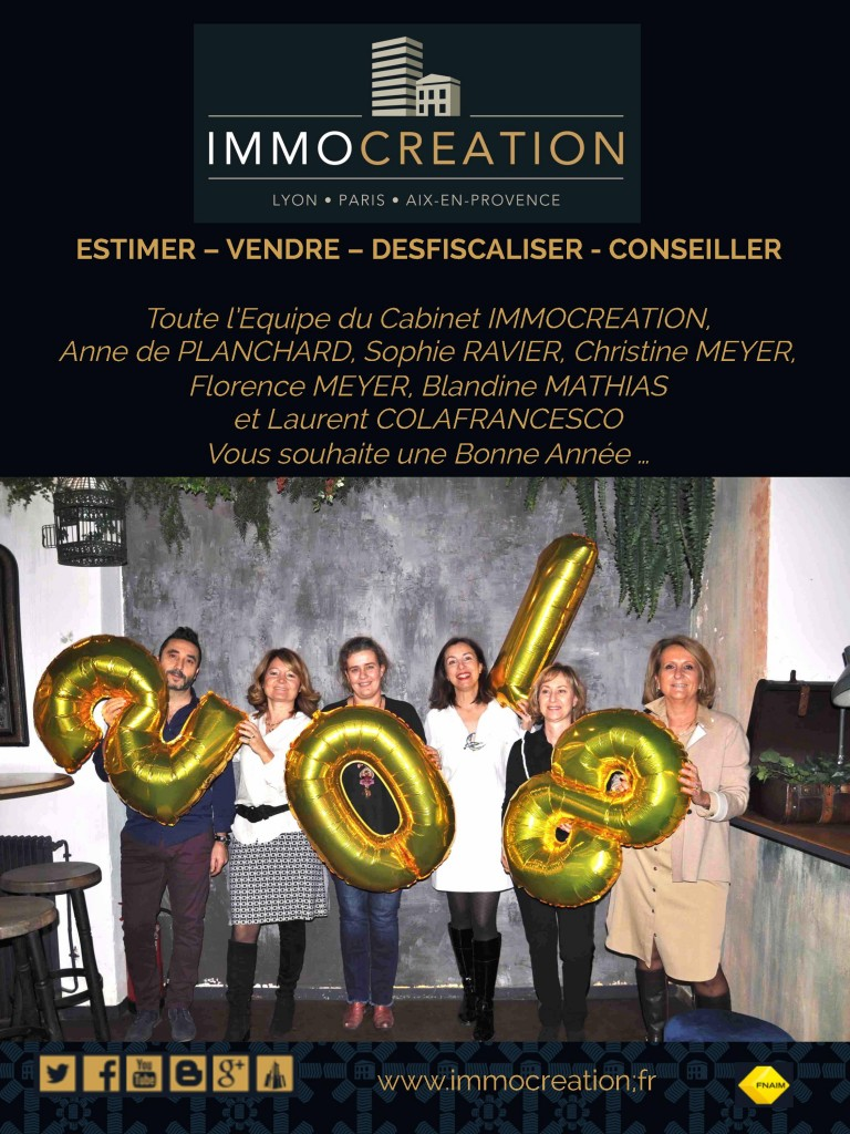 2018 Voeux IMMOCREATION 2018